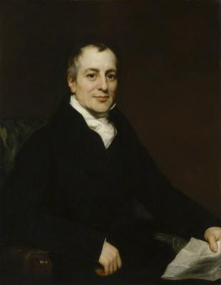 Picture of quotation author David Ricardo