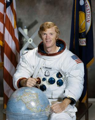 Picture of quotation author Rusty Schweickart