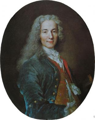 Picture of quotation author Voltaire