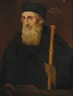Picture of quotation author John Wycliffe