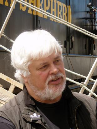 Picture of quotation author Paul Watson