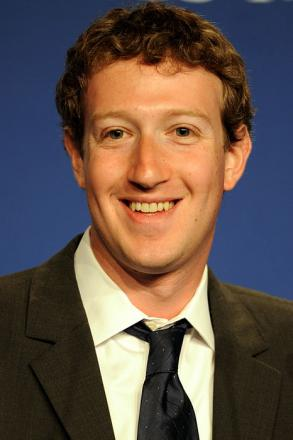 Picture of quotation author Mark Zuckerberg